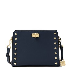 Kabelka Michael Kors Sylvie Studded Leather Messenger navy