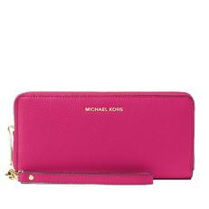 Peněženka Michael Kors Mercer Travel Continental ultra pink