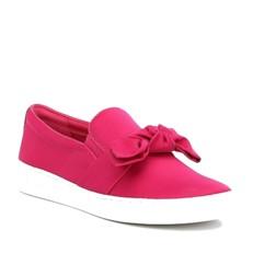 Boty Michael Kors Willa Satin Slip-On Sneaker ultra pink