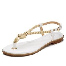 Kožené sandálky Michael Kors Holly bílé