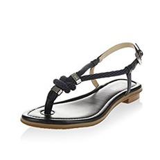 Kožené sandálky Michael Kors Holly modré